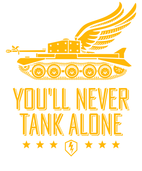 You will never Tank Alone